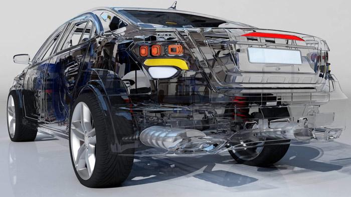 3DS-MAXで自動車の車両やパーツのARシミュレーション向け3Dリモデリング