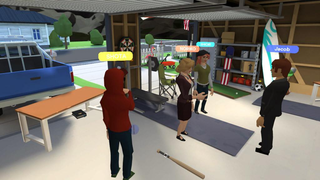 VR英語教育プラットフォームを利用した実証授業が中央大学で実施