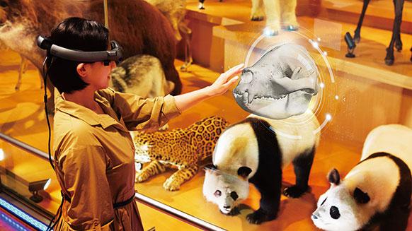 ドコモ×国立科学博物館 XRで楽しむ未来の展示