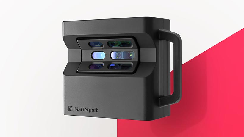 Máy ảnh 3D Pro2 của Matterport