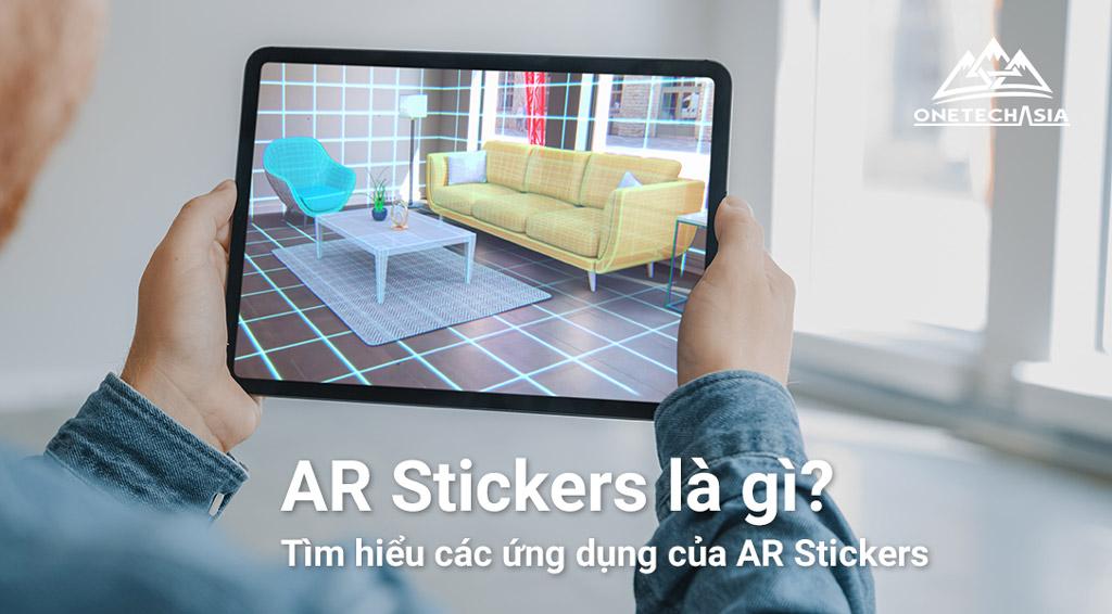 AR Stickers là gì Các ứng dụng của AR Stickers