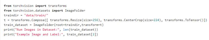 Sử dụng thư viện để tạo Dataset