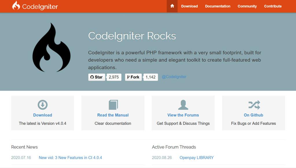 codeigniter-framework