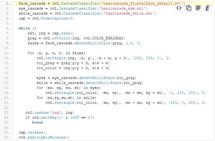 Cách nhận diện khuôn mặt bằng Haar Cascade trong Open Cv Python