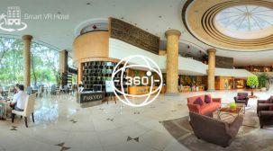 360度カメラ RICOH THETAでホテルの客室をVRに、スマホアプリをUNITYで制作