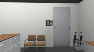 実際のオフィスをCGで再現したVR脱出ゲーム(HTC VIVE/UNITY/STEAM)開発
